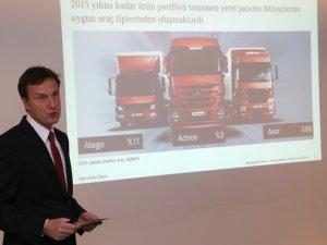 Aksaray Mercedes-Benz'in yenilenen atık yönetimi merkezi açıldı