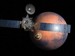 ExoMars uzay aracı hedefine ulaşıyor