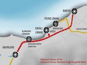 Adapazarı-Bartın Demiryolu Projesi'nin detayları netleşiyor