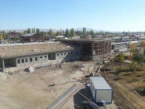 Kars Tren Garı inşaatı hızla devam ediyor