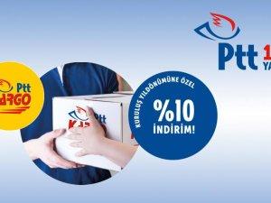 PTT'den yüzde 10 indirim