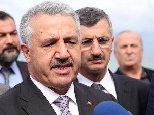 Ahmet Arslan: Zigana Tüneli ile Trabzon'u İç Anadolu'ya bağlamış olacağız
