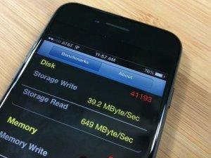 256 GB iPhone 7 daha hızlı!
