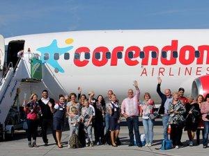Corendon Airlines 100 bininci kez uçtu!