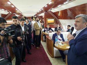 Konya'da uçak restorana büyük ilgi