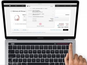 Apple Magic Toolbar ortaya çıktı