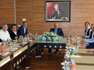Scania yöneticileri Ankara Lojstik Üssü'nde
