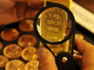Altın fiyatları geriledi