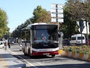 Diyarbakır'da vatandaşlara ücretsiz ulaşım hizmeti
