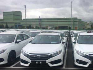 Civic Sedan'ın ihracatına başlandı