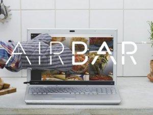 AirBar, ekranları dokunmatik yapıyor