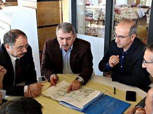 Samsun'da Lojistik Köy tren yolu bağlantı hattı yapılıyor