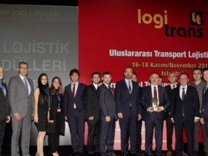 Samsun Lojistik Merkezi açılmadan ödül aldı