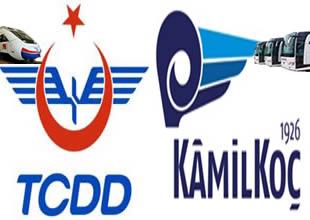 TCDD-Kamil Koç'tan kombine taşımacılık