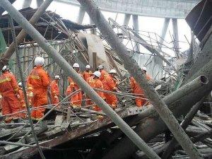 Çin'de santral inşaatındaki göçükte ölü sayısı 74'e yükseldi