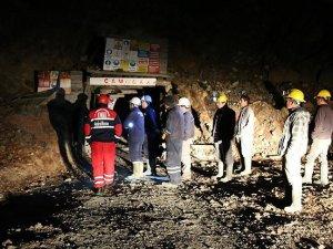 Denizli'de maden ocağında göçük
