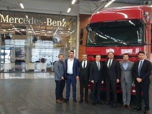 ABC Lojistik 200 adetlik Mercedes-Benz çekici alımını tamamladı