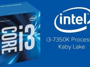 Intel i3 7350K Benchmark sonuçları sızdırıldı