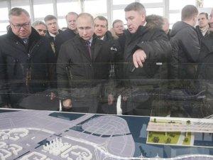 Türk firmasının dev projesini Putin açtı