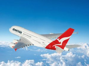 Qantas Airlines'tan bir ilk!
