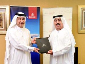 Emirates ve Dubai Sivil Havacılık Kurumu ile sözleşme imzaladı