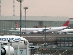 THY'nin VIP uçağı İstanbul'a geldi