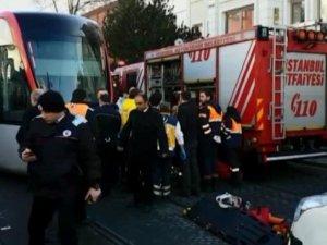 İstanbul'da tramvay kazası: 1 ölü