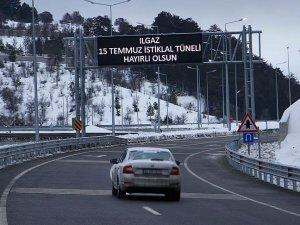 Sürücüler 'Ilgaz'ı dize getiren tünelden memnun