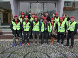 Tırsan Güney Koreli misafirlerini Adapazarı Fabrikası'nda ağırladı