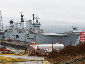 İngiliz uçak gemisi İzmir'de hurdaya dönüşecek
