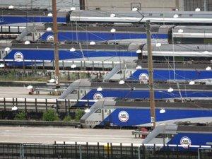 Çin'den Londra'ya ilk yük treni yola çıktı
