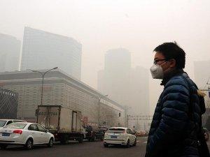 Çin'de hava kirliliği için ilk kez 'Ulusal Kırmızı Alarm' verildi