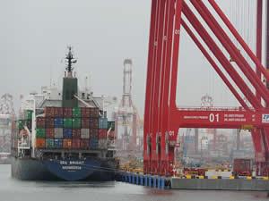 Sri Lanka'daki Colombo Limanı 2 milyon TEU'ya ulaştı