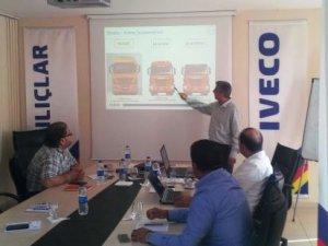 Iveco'dan 2016'da ağır vasıta sürüş eğitimi rekoru