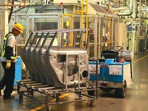 Sanayi üretimi yüzde 2,7 arttı