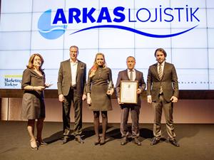"Arkas Lojistik ""The One Awards""ta birinci oldu"
