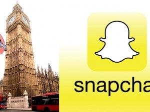 Snapchat'in yönetim merkezi Londra'da olacak