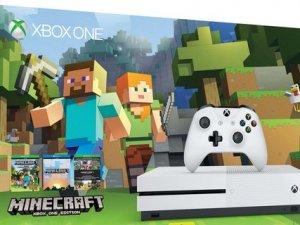 Xbox One S Minecraft paketi satışta