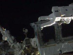 UUİ astronotlarından yeni uzay yürüyüşü
