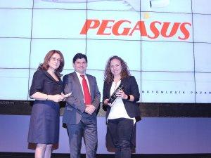 """Pegasus The ONE Awards'da  """"En İyi Havayolu"""" seçildi"""