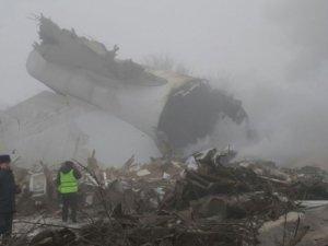 Kırgızistan'da düşen Türk kargo uçağının karakutusu bulundu