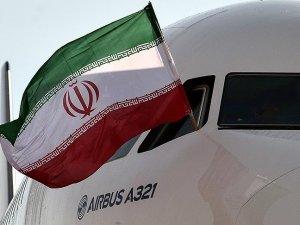 İran'ın AIRBUS uçağı 'İmam Rıza Türbesi'ni tavaf etti