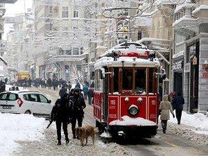 Nostaljik tramvayın seferlerine ara verildi