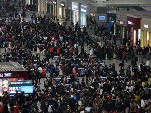 Çin Bahar Bayramı'nda 343 milyon kişi seyahat edecek