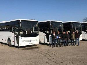 TEMSA, Fransa'ya 22 otobüs teslim etti