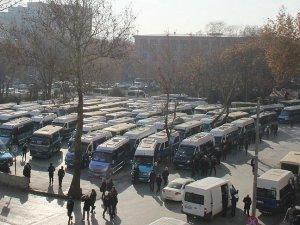 Güvenpark'taki minibüs durakları için yeni proje