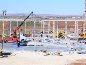 AFAD sınırın sıfır noktasına dev lojistik depo kuruyor