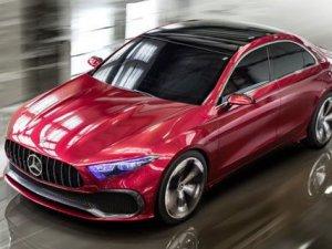 İşte Mercedes Concept A Sedan!
