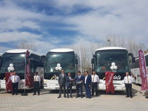 Anadolu Ulaşım, MAN ve NEOPLAN otobüslerden oluşan 18 araçlık filo aldı