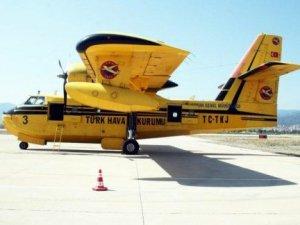 Yangın söndürme uçakları göreve hazır